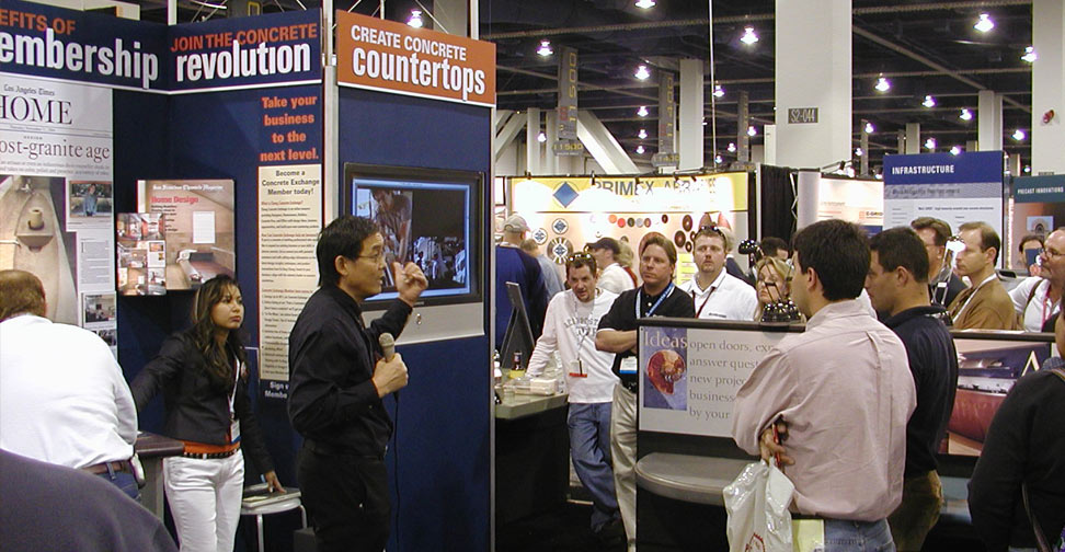 Fu-Tung Cheng talking at World of Concrete | Concrete Exchange