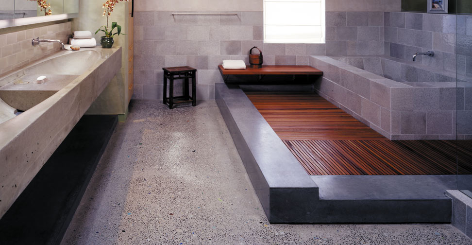 It can be sweet to put your feet on concrete concrete for Cheng concrete colors