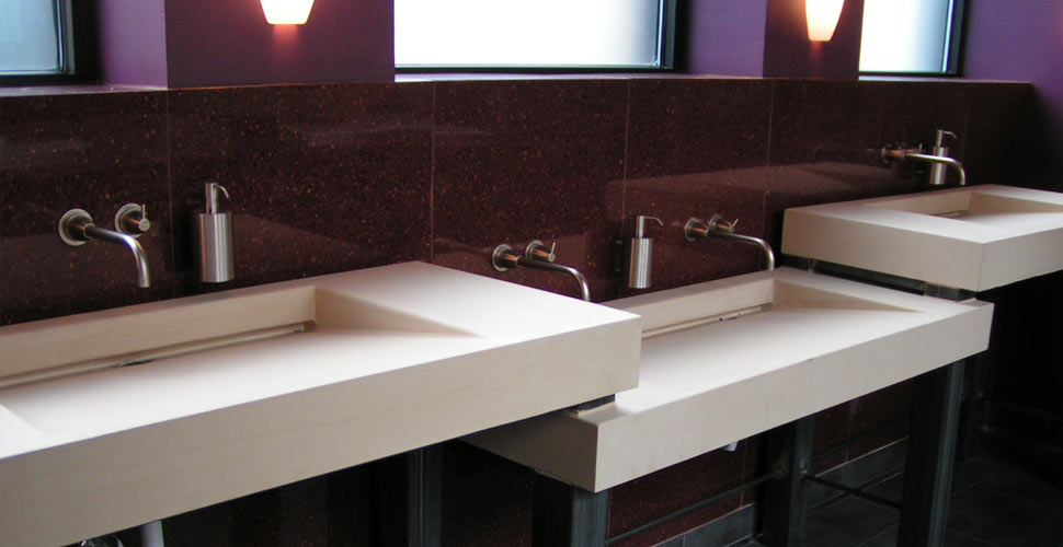Integral Concrete Sinks by Chris Becker | CHENG Concrete Exchange