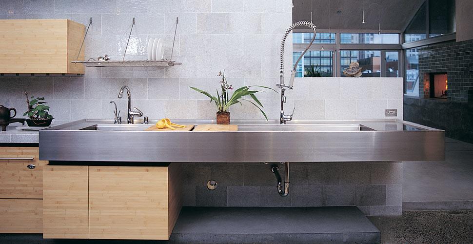 Custom Concrete Kitchen by Fu-Tung Cheng | Concrete Exchange