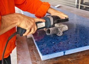 How To Polish Concrete Countertop 485x350 Concrete Exchange