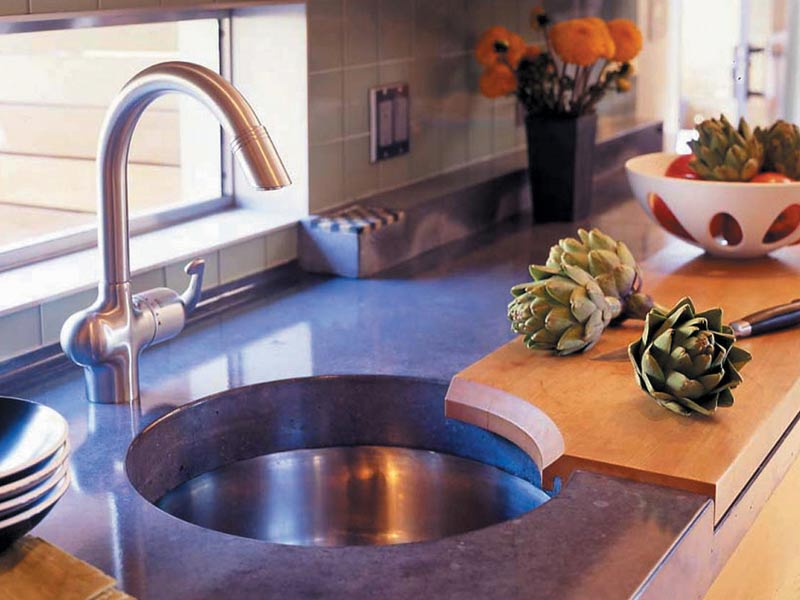 Precast Concrete Countertops | CHENG Concrete Exchange