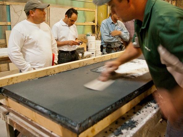 ... Pour In Place Concrete Countertop Class | CHENG Concrete Exchange ...
