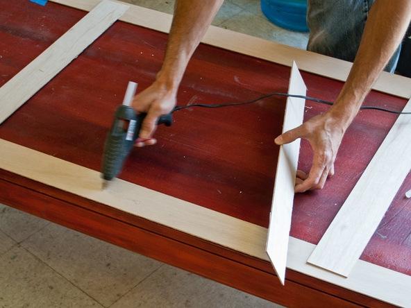 one make a concrete countertop template concrete exchange. Black Bedroom Furniture Sets. Home Design Ideas