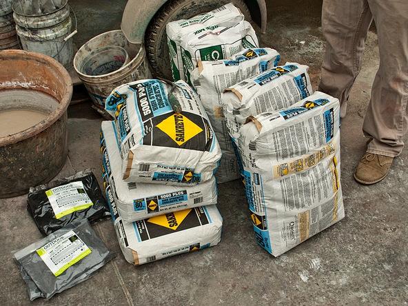Mix the Concrete Step 1.1 - Precast Concrete Countertops | CHENG Concrete Exchange