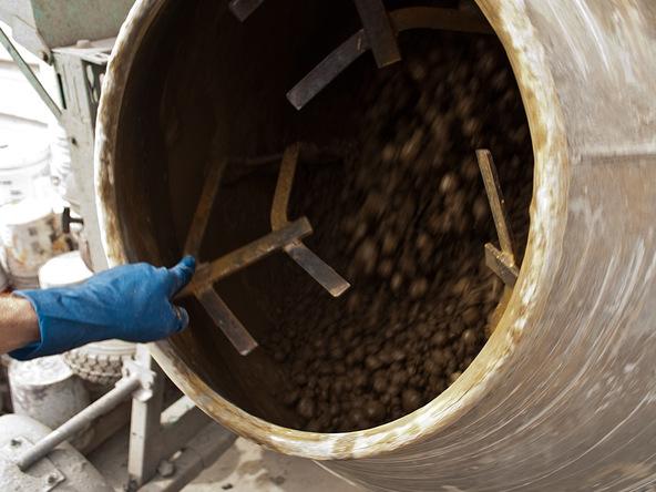 Mix the Concrete Step 3.1 - Precast Concrete Countertops | CHENG Concrete Exchange