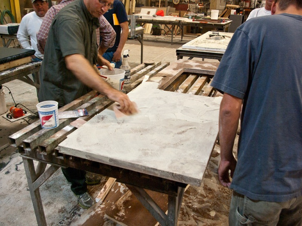 Slurry - Hand Pressed Concrete Countertop | CHENG Concrete Exchange