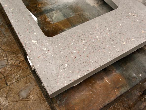 Etonnant Cut/Clear Step 2.2   Terrazzo Concrete Countertops | CHENG Concrete Exchange