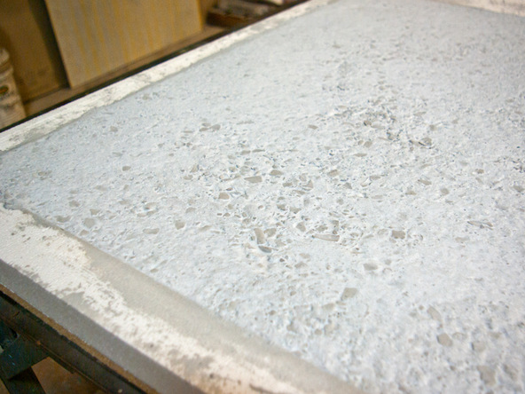 Pouring Step 4.2   Terrazzo Concrete Countertops | CHENG Concrete Exchange