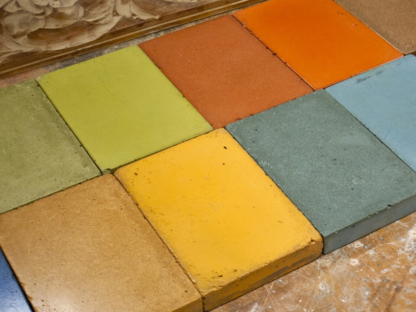 Vibrant Concrete Color Samples | CHENG Concrete Exchange