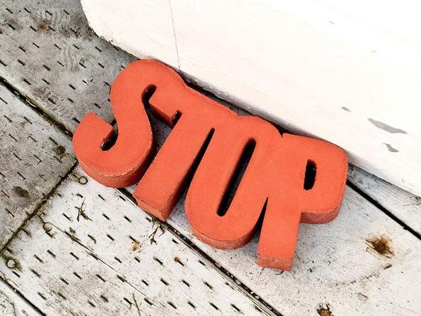 Step 8.1, Finishing - Door Stop | CHENG Concrete Exchange