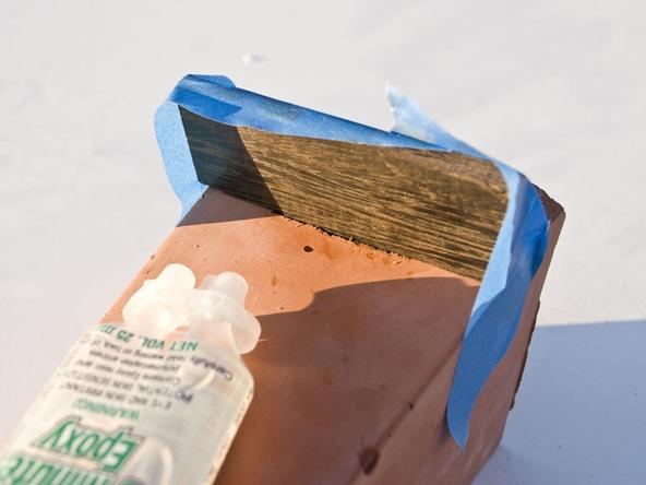 Step 9.2, Make the Wood Ledge - iPad Easel | CHENG Concrete Exchange