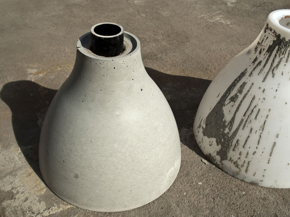 Step 8.1, Demold - Umbrella Base | CHENG Concrete Exchange