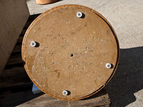 Step 9.2, Finishing - Umbrella Base | CHENG Concrete Exchange