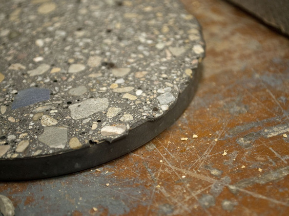 Step 5.2, Demold - Concrete Coasters | CHENG Concrete Exchange