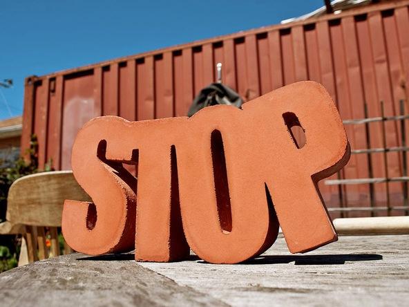 Concrete Door Stop | CHENG Concrete Exchange