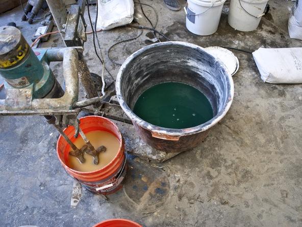 Casting Concrete Step 2.1 - Bent Concrete Side Table | CHENG Concrete Exchange