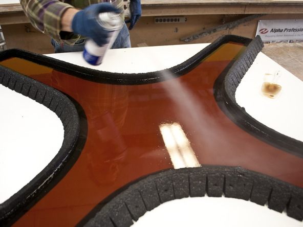 Casting Rubber Mold Step 3 - Bent Concrete Side Table | CHENG Concrete Exchange