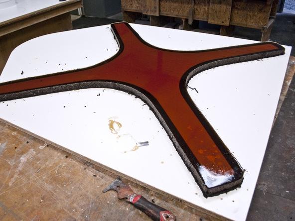 Casting Rubber Mold Step 4.2 - Bent Concrete Side Table | CHENG Concrete Exchange