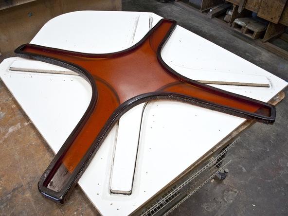 Casting Rubber Mold Step 5.2 - Bent Concrete Side Table | CHENG Concrete Exchange