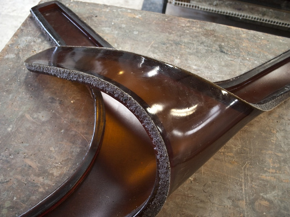 Casting Rubber Mold Step 5.3 - Bent Concrete Side Table | CHENG Concrete Exchange