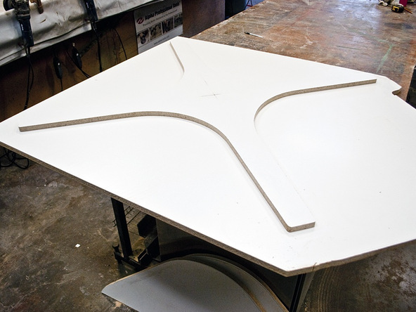 Forming the Rubber Mold Step 3.1 - Bent Concrete Side Table | CHENG Concrete Exchange