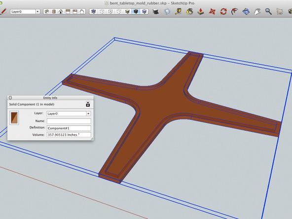 Mixing Rubber Step 1 - Bent Concrete Side Table | CHENG Concrete Exchange