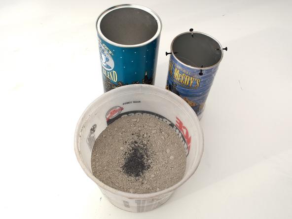 Step 4.1, Mix, Pour, Vibrate Concrete - Cylindrical Planter | CHENG Concrete Exchange