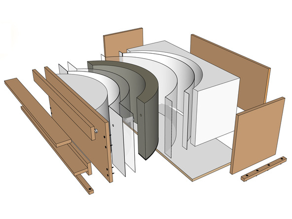 Concrete Silo Grill Surround Form Kit Details Step 1 1