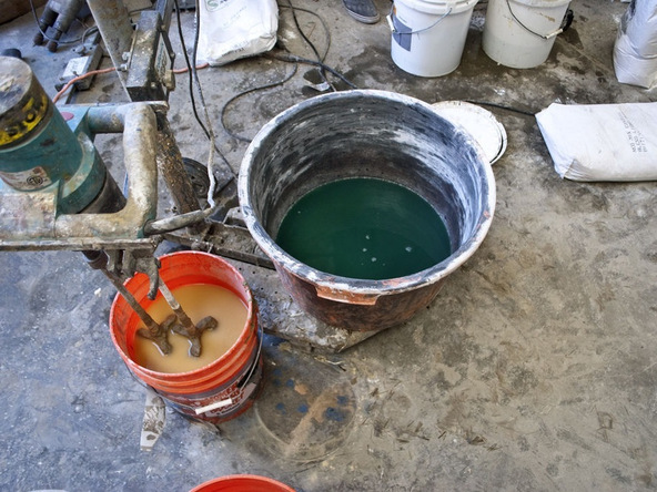 Mixing CHENG's D-FRC Mix | CHENG Concrete Exchange