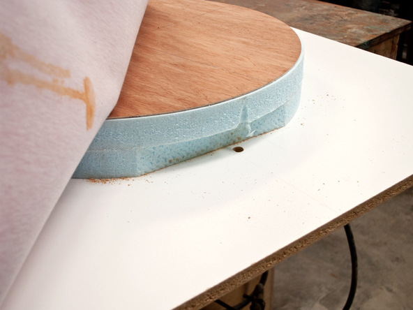 Fabric Formed Concrete Fire Table   CHENG Concrete Exchange