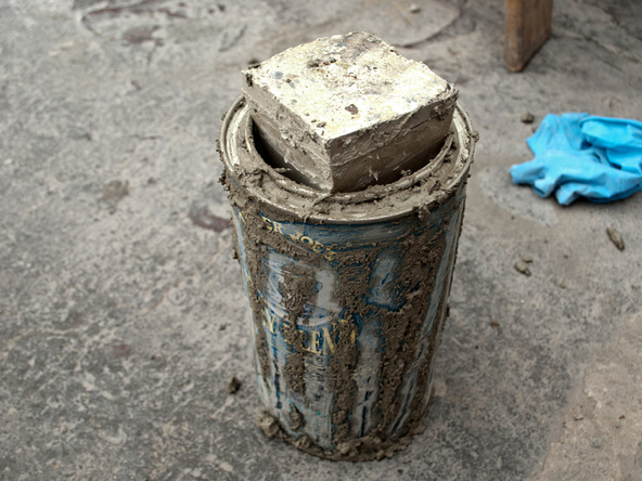 Step 5.1, Cover and Cure - Cylindrical Planter   CHENG Concrete Exchange