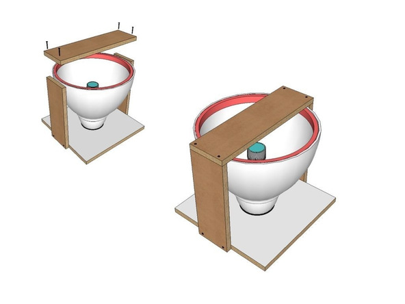 Step 6.2, Bracing - Umbrella Base | CHENG Concrete Exchange