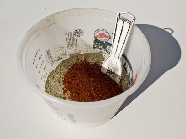 Step 5.1, Mix, Pour, Vibrate - iPad Easel | CHENG Concrete Exchange