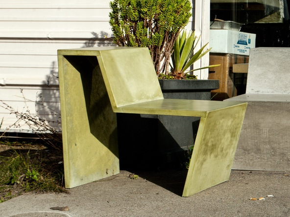 Finished Chair Step 1.1 - Greenbrae Chair | CHENG Concrete Exchange