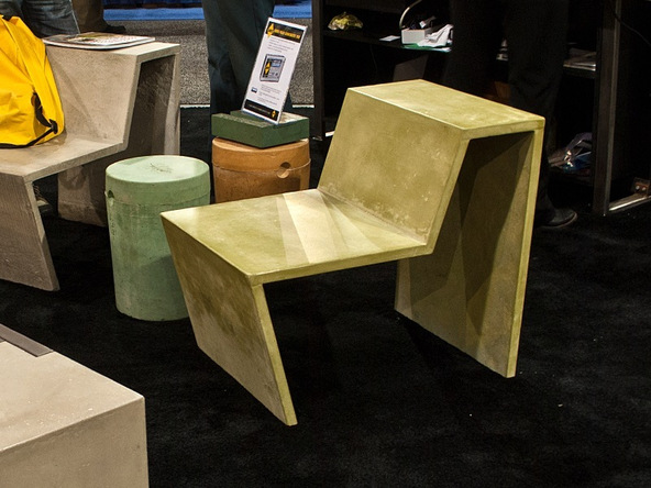 Finished Chair Step 1.2 - Greenbrae Chair | CHENG Concrete Exchange