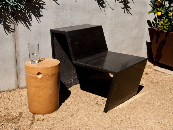 Finished Chair Step 1.3 - Greenbrae Chair | CHENG Concrete Exchange