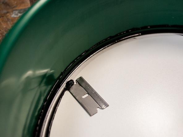 Step 2.3, Seal the Form - 5-Gallon Bucket Storage Stool Pro-Formula | CHENG Concrete Exchange