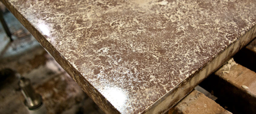 Hand Pressed Concrete Countertop How To Guide | CHENG Concrete Exchange