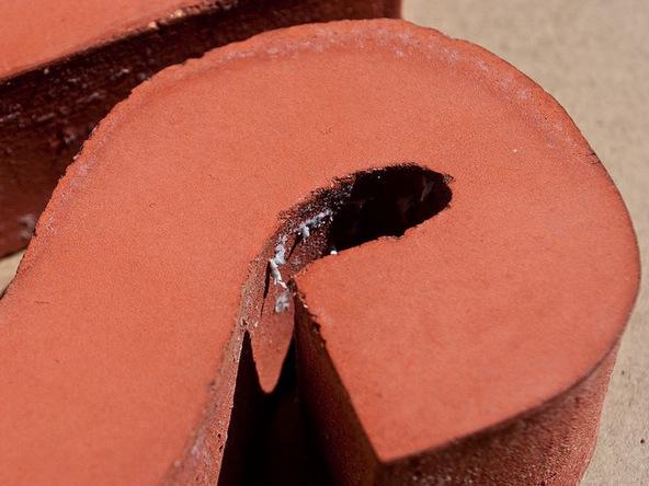 Step 7.2, Sand Rough Edges - Door Stop | CHENG Concrete Exchange