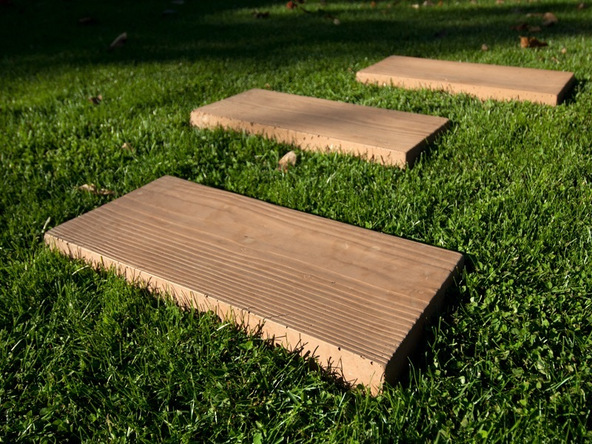 Step 8.1, Finished Stepping Stone: Woody - Concrete Stepping Stones | CHENG Concrete Exchange