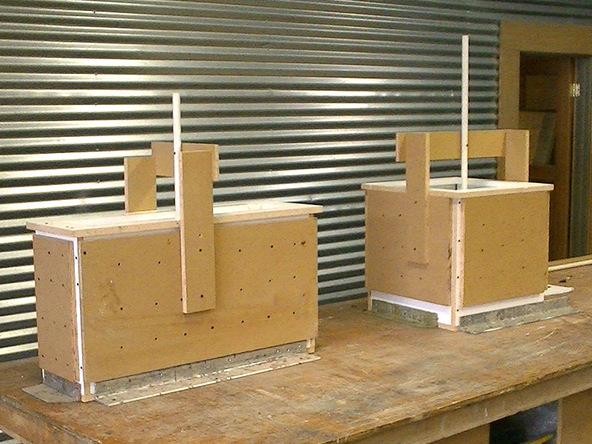 Casting Step 1.1 - Park Avenue Bench and Planter | CHENG Concrete Exchange