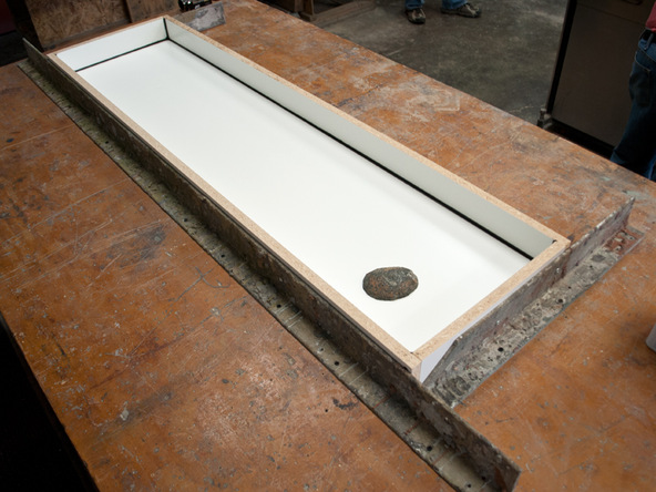 Park Ave Bench and Planter - Forming the Bench Top | CHENG Concrete Exchange
