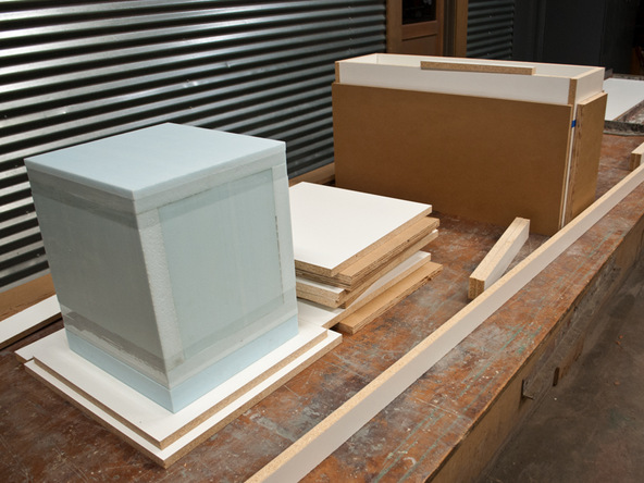 Forming Cube Planter Step 1.1 - Park Avenue Bench and Planter   CHENG Concrete Exchange