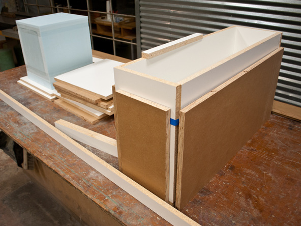Forming Long Planter Step 1.1 - Park Avenue Bench and Planter | CHENG Concrete Exchange