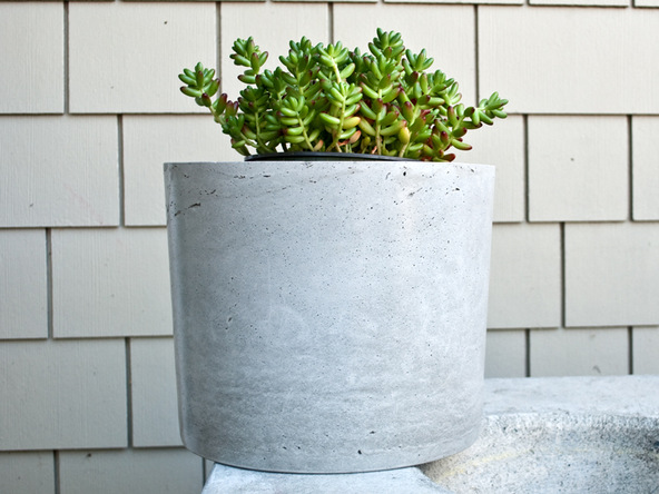 Step 4.1, Finished Planter - 5-Gallon Planter | CHENG Concrete Exchange