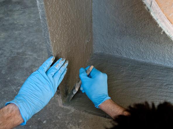 Casting Step 2.1 - Quadra Fire Pit | CHENG Concrete Exchange