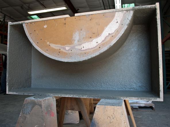 Casting Step 2.3 - Quadra Fire Pit | CHENG Concrete Exchange
