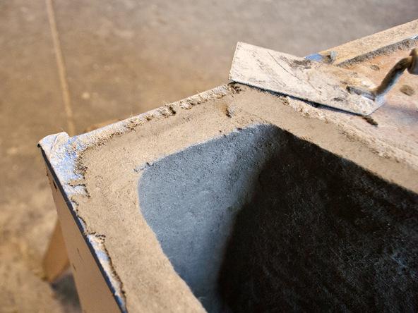 Casting Step 4.1 - Quadra Fire Pit | CHENG Concrete Exchange