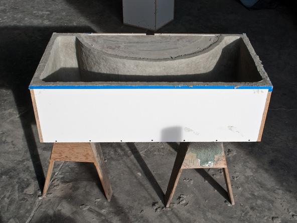 Casting Step 4.2 - Quadra Fire Pit | CHENG Concrete Exchange